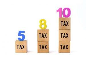 消費税10%への引上げで軽減税率